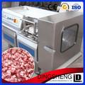 Acero inoxidable congelada completamente automático de pollo máquina rebanadora de carne