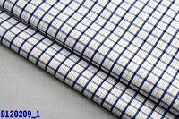 100cotton yarn dyed check fabric in bulk