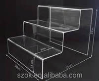 beautiful elegant custom acrylic cupcake display stand wholesale