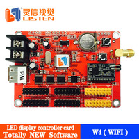 The Listen Vision new product WIFI led screen control card by Anroid mobile App LS-W4 (USB)