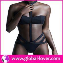 Wholesale High Quality Low Moq Black Hot Sexy Girl Photo Bikini