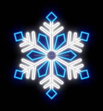Frequency:50HZ/60HZ motif light snowflaker ,blue white Customized snowflaker