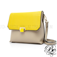 BELLUCY Durable Easy to Keep Clean Bicolor Messenger Bag