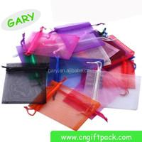 feather organza bag/ organza bags with logo/ 6x9 organza bags