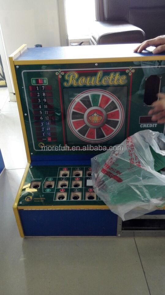 Electronic roulette table