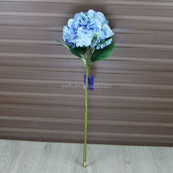 "28"" heigh royal blue wholesale artificial hydrangea flowers wedding decoration"