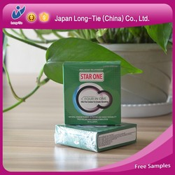 Natural Latex Male Condoms Delay Lubricated