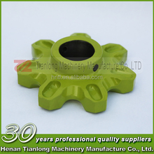 Green Yellow Tractor Type Corn Straw Harvester/Forage Harvester Agricultural Farm Sprocket Wheel Gear