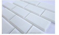Latest construction materials of crystallized tile for bathroom and kitchen design with 30 mm thickness