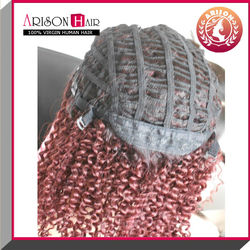 afro kinky curly new fashion synthetic u part wig