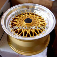 Hot sale replica bbs wheel, car alloy wheel rim, popular various sizes