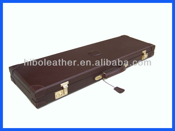 Trade Assurance top Quality Genuine Leather Gun Case