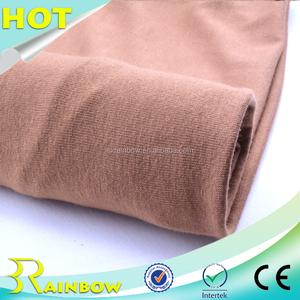 Iyi Örtü Düz Boyalı Örme Süprem Konfeksiyon için 95 Rayon % 5 Spandex Kumaş