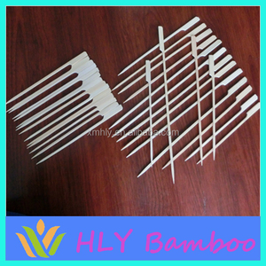 Espetos de bambu com palavras de alta qualidade satay ferro churrasco espeto para venda