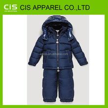 Nylon hiver personnalisé garçons vestes