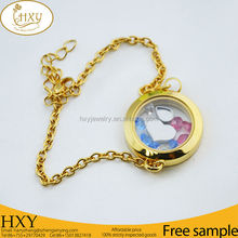 2015 High Quality locket charm costume necklace