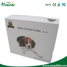 Anti bark stop collar with the newly design vibration and shock