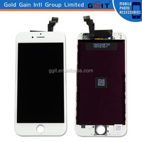 For iPhone 5 Front White LCD Display Touch Screen Digitizer Assembly Replacement