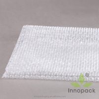 large size clear PE air bubble film bags for packing wholesale