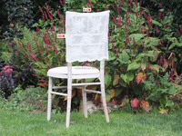 Cheap lace chair cover wedding