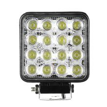 Hot sale 12v driving working square 48w led worklight,auto waterproof led worklight