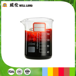 ISO22000 certificate compound natural red edible color