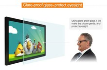 advertising capacitive touch screen, transparent glass touch screen 17''