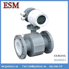 Electromagnetic luquid flow meter for measuring water control