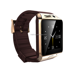 2015 New product bluetooth SIM camera watch GV08S smart watch phone with 240x240HD Touch Screen