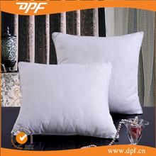Cheap price white plain pillow/ throw pillows microfiber cushion