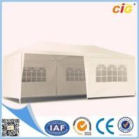 outdoor waterproof gazebo tent 6x3 with windows