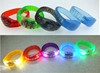 remote controlled led RFID event wristband with custom LOGO and shape