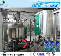 New Condition 3000-4000BPH Soft Drink can making machine
