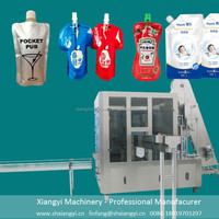 spout pouch filling machine / water pouch packing machine price / juice pouch packing machine