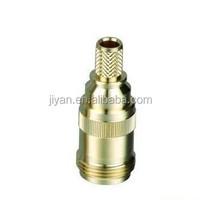 Stainless/steel/aluminum/brass hollow round drive shaft with internal thread