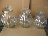 the pumpkin shaped glass storage jar, glass candy jar for food, glass container with lid