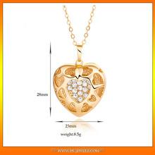 New Elegant Fashion Asian Bridal Jewelry heart pendant
