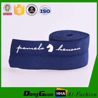 Garment Customzied Non Slip Rubber Elastic Band