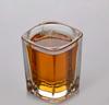 Haonai M-30385 hot sale square base glass,whiskey glass