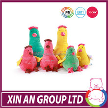 EN71 AND ASTM stuffed high quality plush promotional flying chicken soft toy for kids