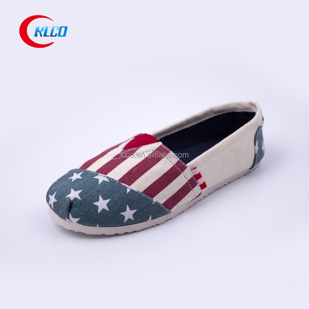 2015 cheap slip on beige printed canvas shoes buy