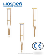 2016 China factory hotsale and most good quality wooden crutches