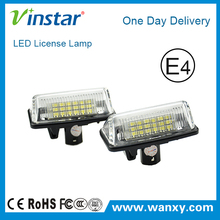 LED License plate light LCL car led tail number plate light for toyota Crown with E4 E-mark