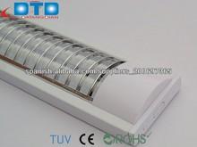 t5 luminarias empotradas techo rejilla de luz 2*28w
