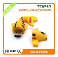 promotional golden fish usb flash drive