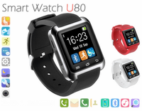 2015 new fashion bluetooth android smart watch U80 with Selfie function
