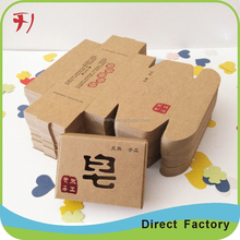 corrugated cardboard carrier with hand carry