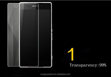 clear screen protector for sony xperia tempered glass screen protector for sony xperia z1 with high quality