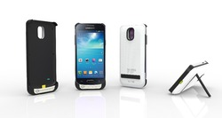 samsung S4 mini power case with cover/without cover, 2600 mAh backup battery, For S4 mini power bank