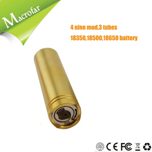 Famous e -cig mechanical material 4 nine mod copper